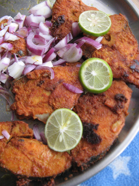 SPICY MASALA FISH