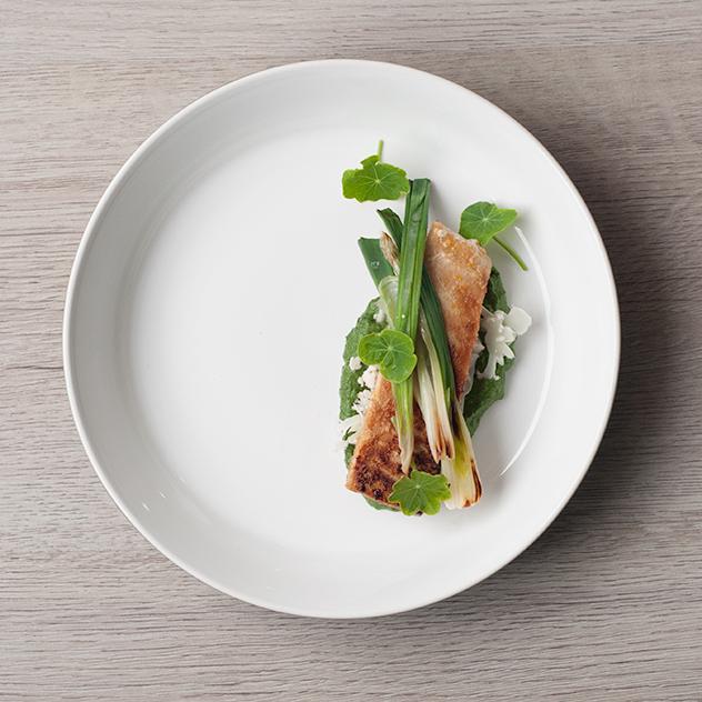 Blogger Competition: Participando con Albacora marinada con textura de Verduras
