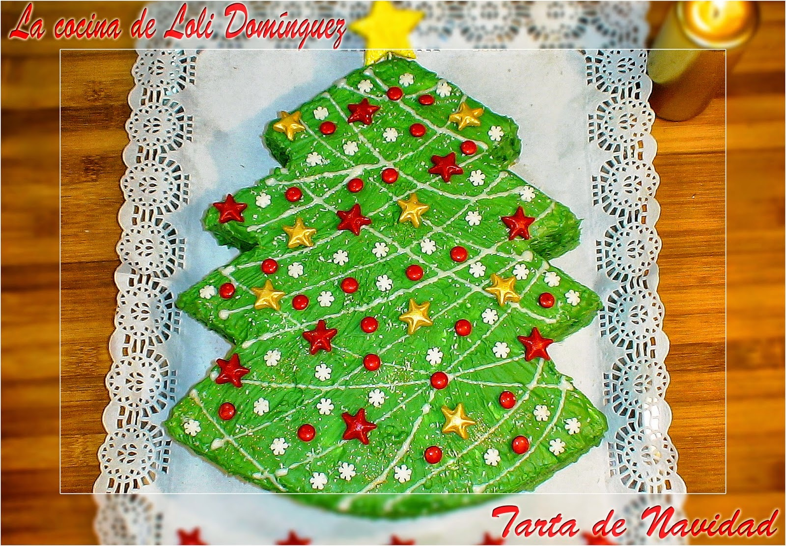 Tarta de Navidad