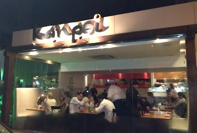 Kanpai: bom gosto em comida e ambiente