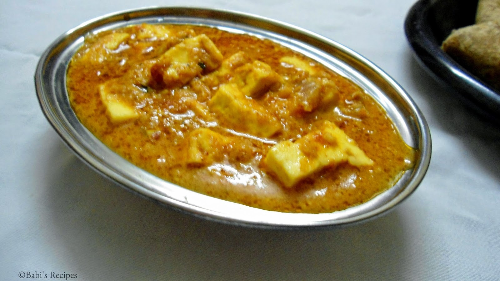 PANEER BUTTER MASALA | Side dish for roti/ chapathi