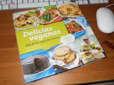 """Libro """"Delicias Veganas"""" de Toni Rodríguez"""