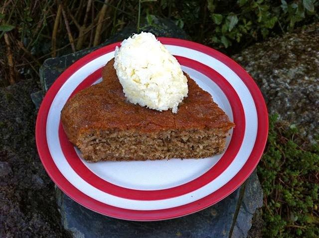 Honey & Walnut Yogurt Semolina Cake