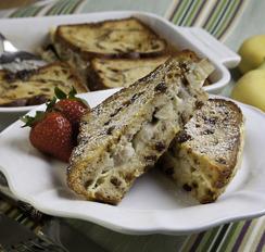 Pan frances de plátano