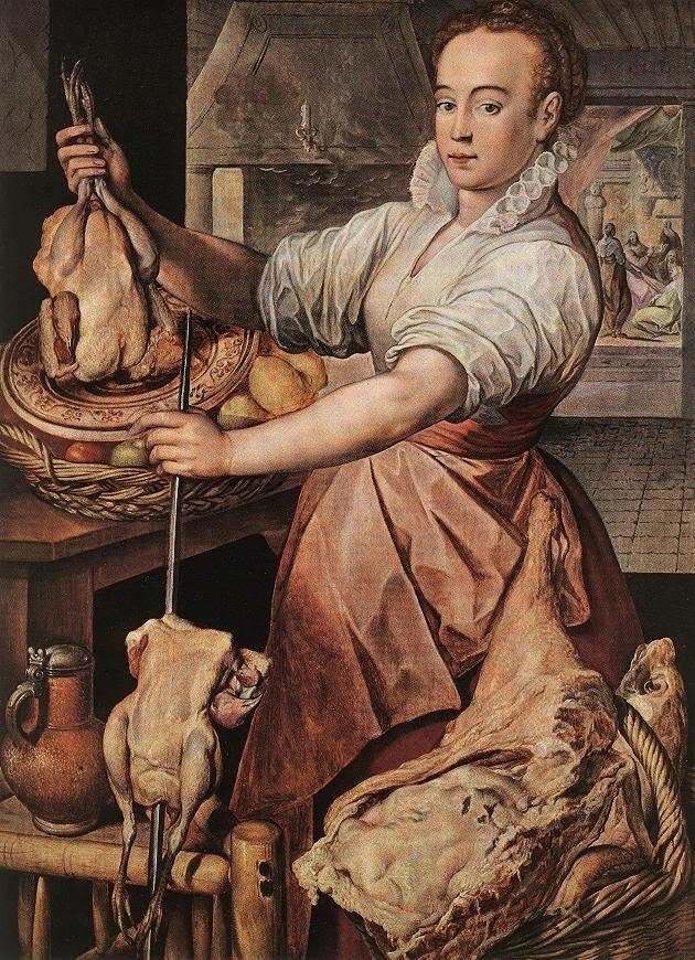 A Arte e a Gastronomia - Beuckelaer, Joachim