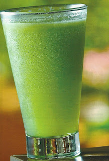 suco detox de melancia com couve