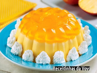 abacaxi flan