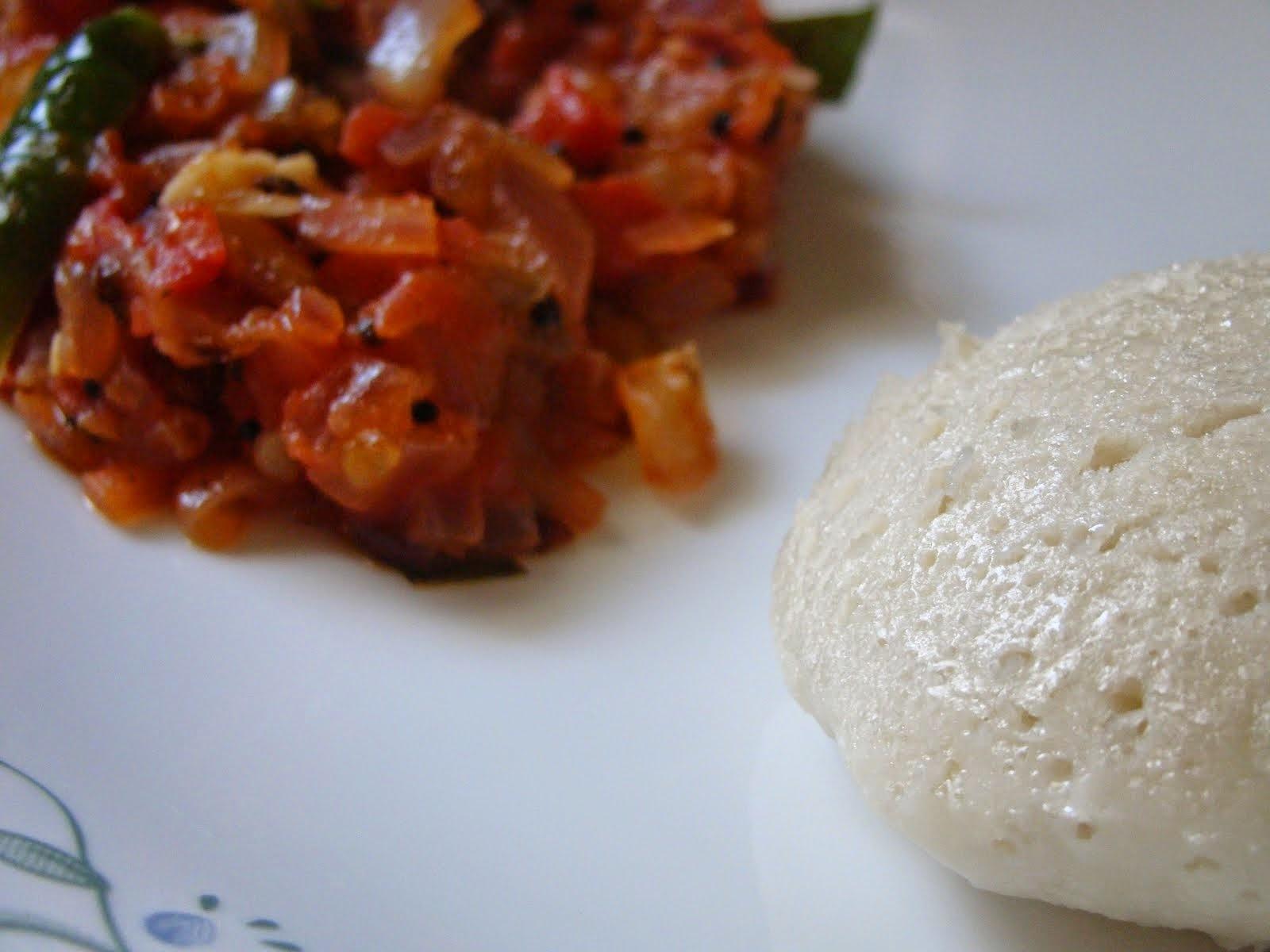 Chennai Special Thakkali Thokku - Tomato Onion Gravy - Side dish for Chappathi, Idli, dosa, etc.