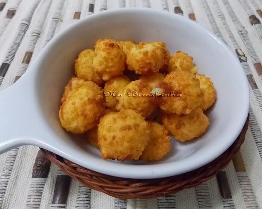 fritar queijo pipoca