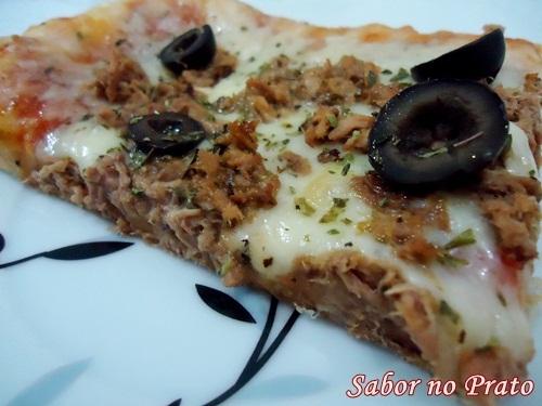 Pizza Retangular de Atum