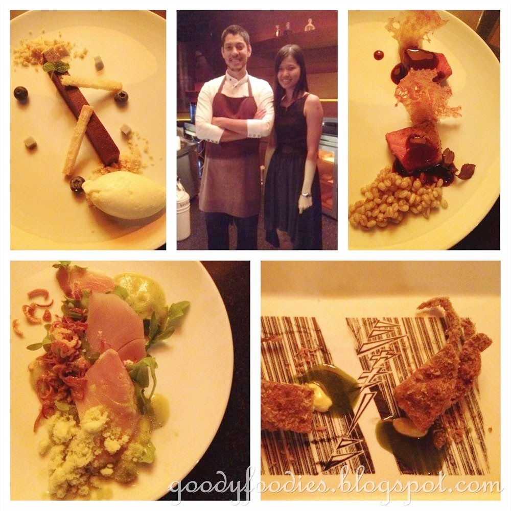 Molecular cuisine by Jeff Ramsey @ Mandarin Oriental KL