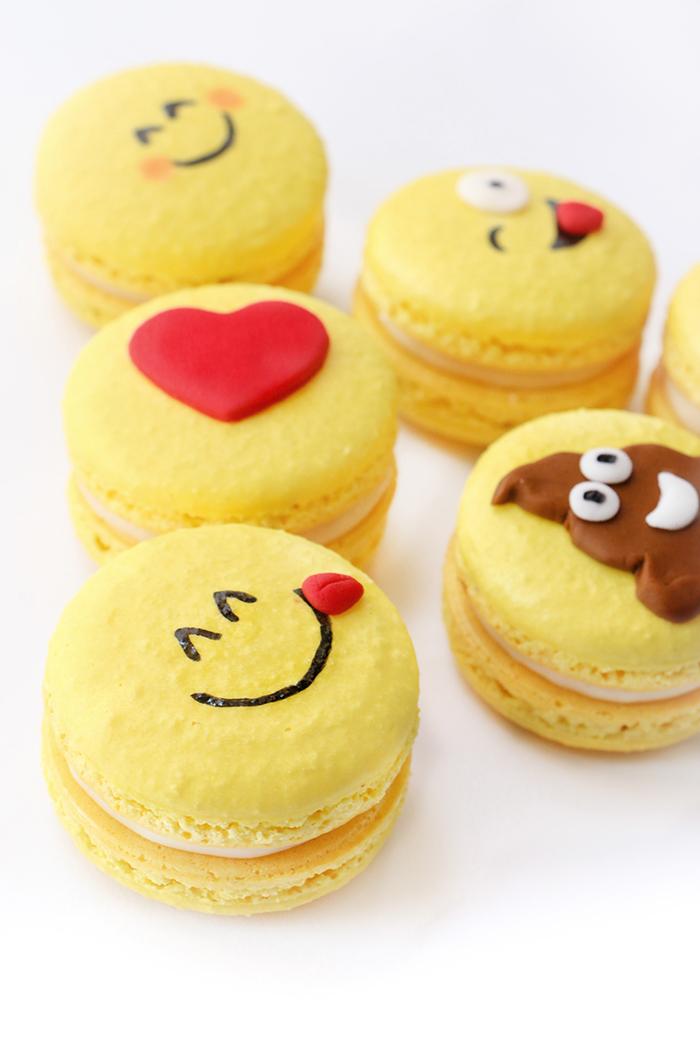 Emoji French Macarons de Limón