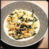 Bens Couscous Salat mit Mangold & Feta