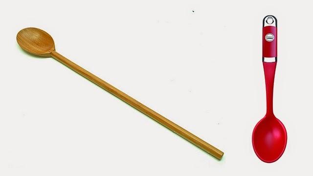 Colher de pau ou silicone? Qual usar