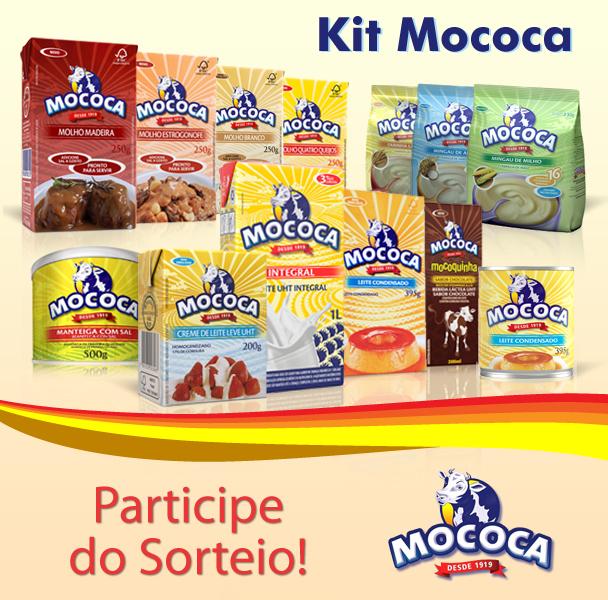 Sorteio de 2 kits com produtos Mococa