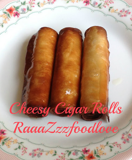 Cheesy Cigar Rolls