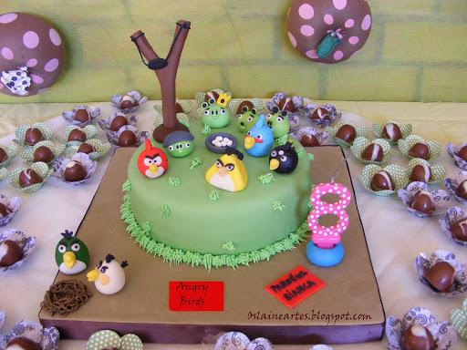 bolos decorados com glace