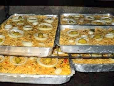 torta de bacalhau com palmito em conserva