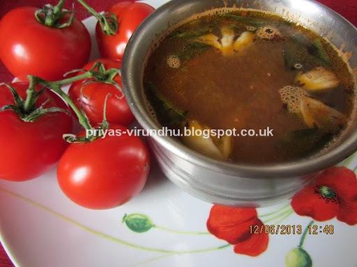 Tomato Rasam/Thakkali Rasam
