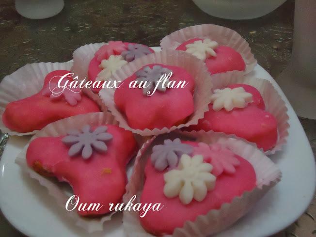 Gâteaux au flan glacés