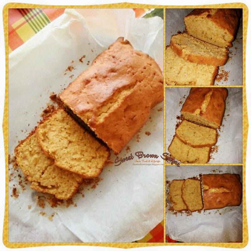 Sweet Food - Gâteau moelleux à la patate douce