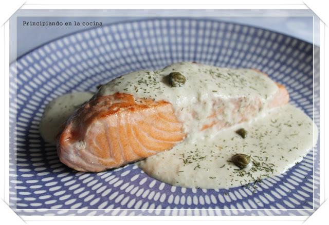 salsas para salmon rosado