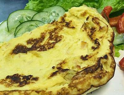 Omelete de Whey Protein (Ana Maria Braga)