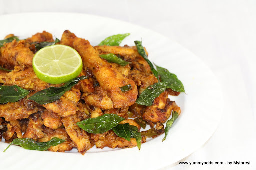 boneless chicken fry andhra style