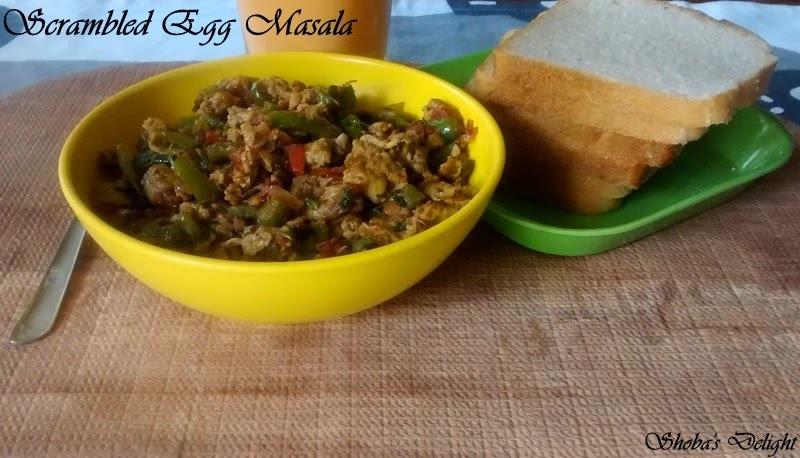 Scrambled Egg Masala (Egg Bhurji)