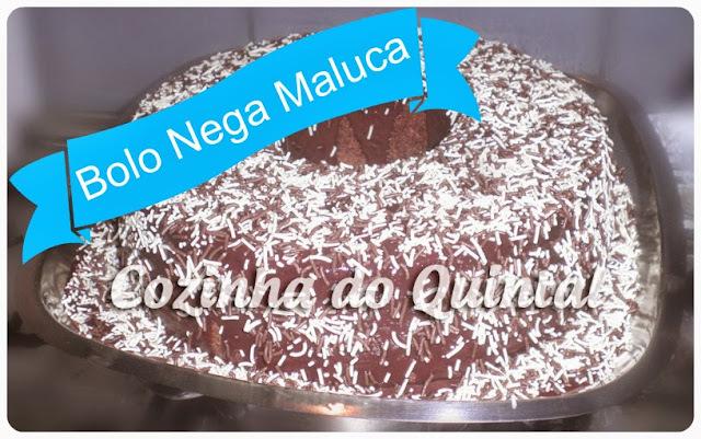 Feliz Dia das Bruxas com Nega Maluca