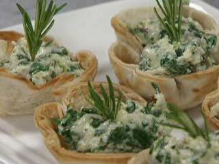 Canapes vegetarianos faciles
