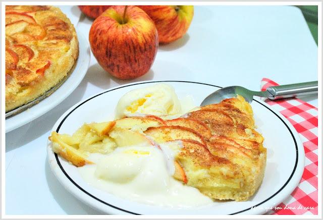 sobremesa de inverno (e de qualquer estação): cream cheese apple pie