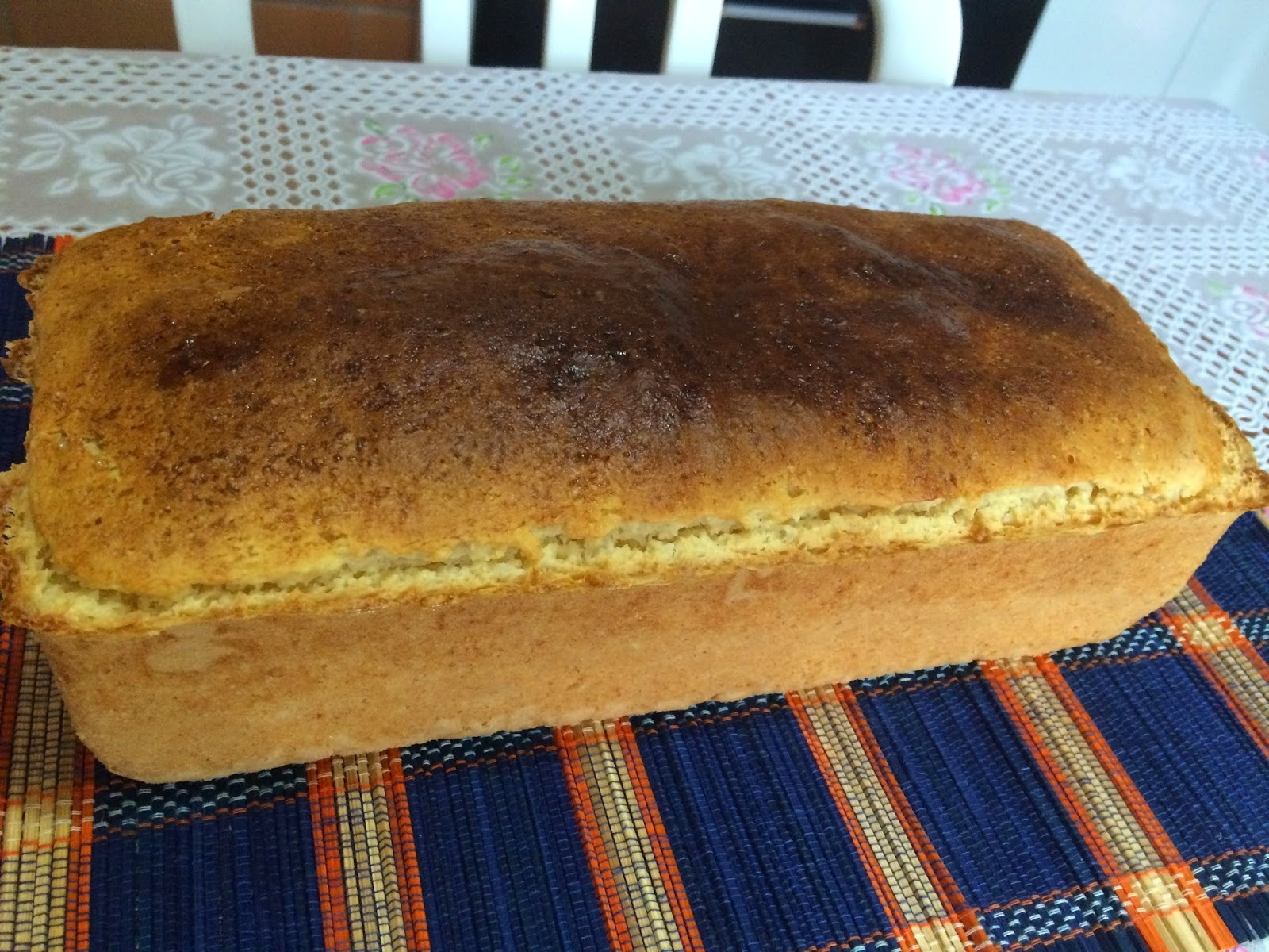 Pão de forma macio: