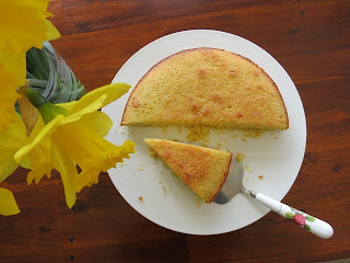 Citrus Almond Semolina Cake