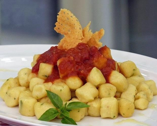 nhoque de massa cozida com batata da ana maria braga