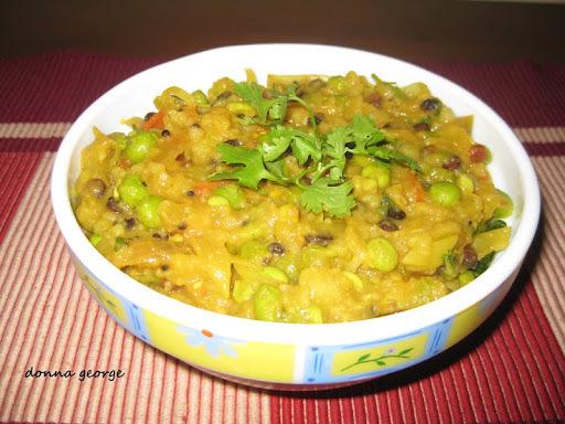 Potato & Peas Bhaji