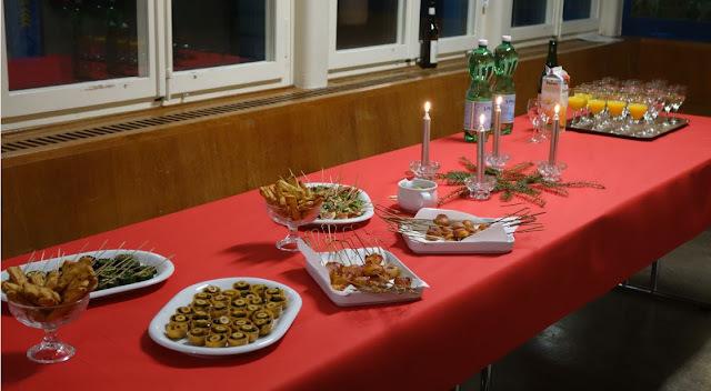 Weihnachtsessen 2015 Hobbychöche / Impressionen, Rezepte
