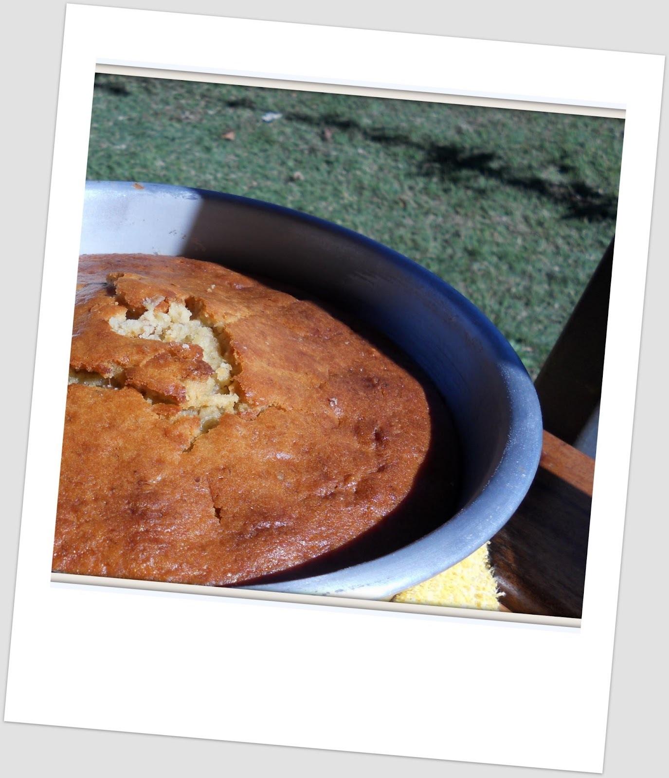 Torta de banana y nueces ... de la naturaleza y para (re)comenzar