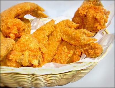 Alitas de pollo crispy