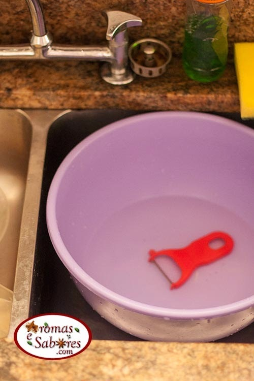 Como economizar água na cozinha