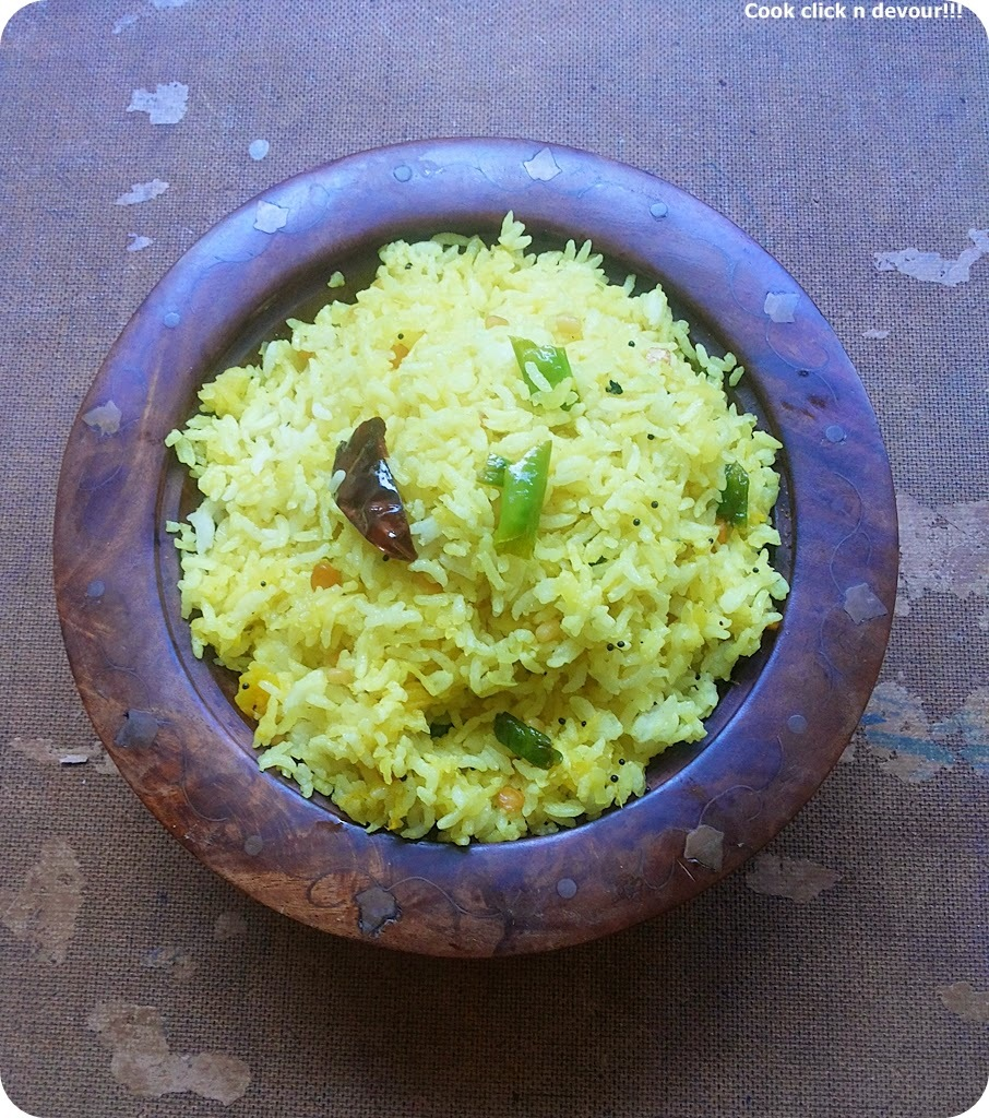 Manga/mangai sadham(Mango rice)