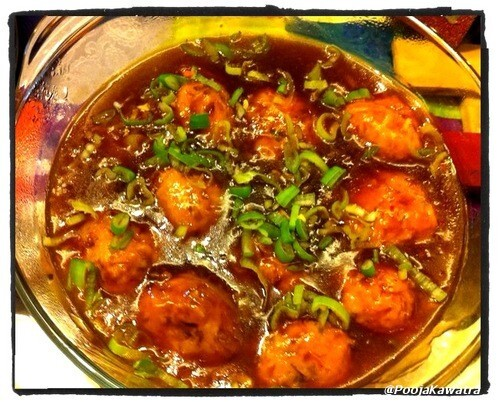 gobi manchurian gravy by sanjeev kapoor