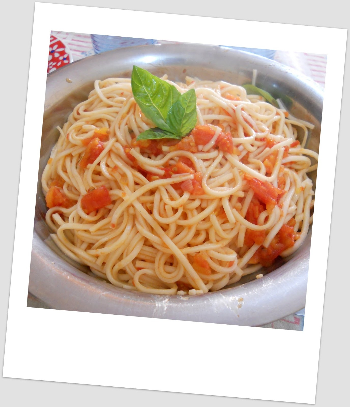 Classic tomato spaghetti ... #FRD2014