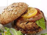 comida yucateca -Hamburguesas de pavo con pan