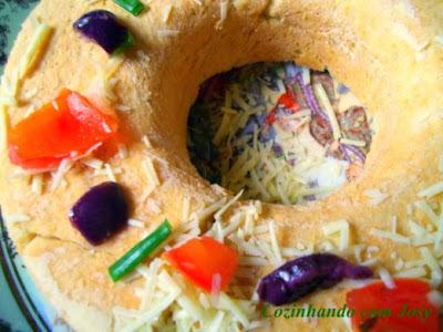 Pão Salgado de Abobrinha e Azeitona/Instruções Blogagem Coletiva