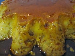 Pudim de Ovos com Licor Beirão