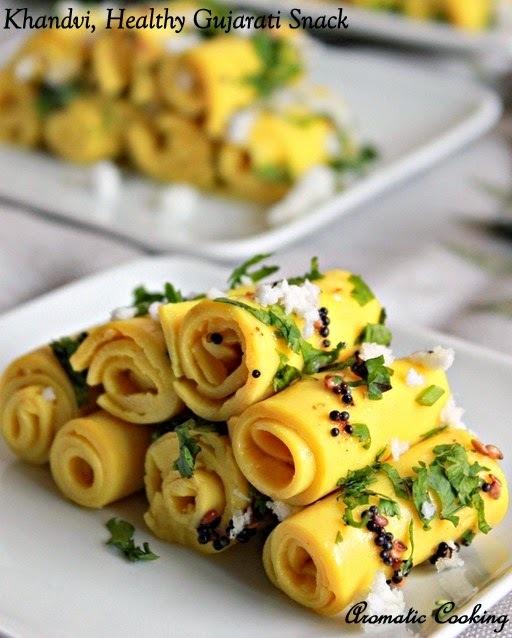 Khandvi, Healthy Gujarati Snack