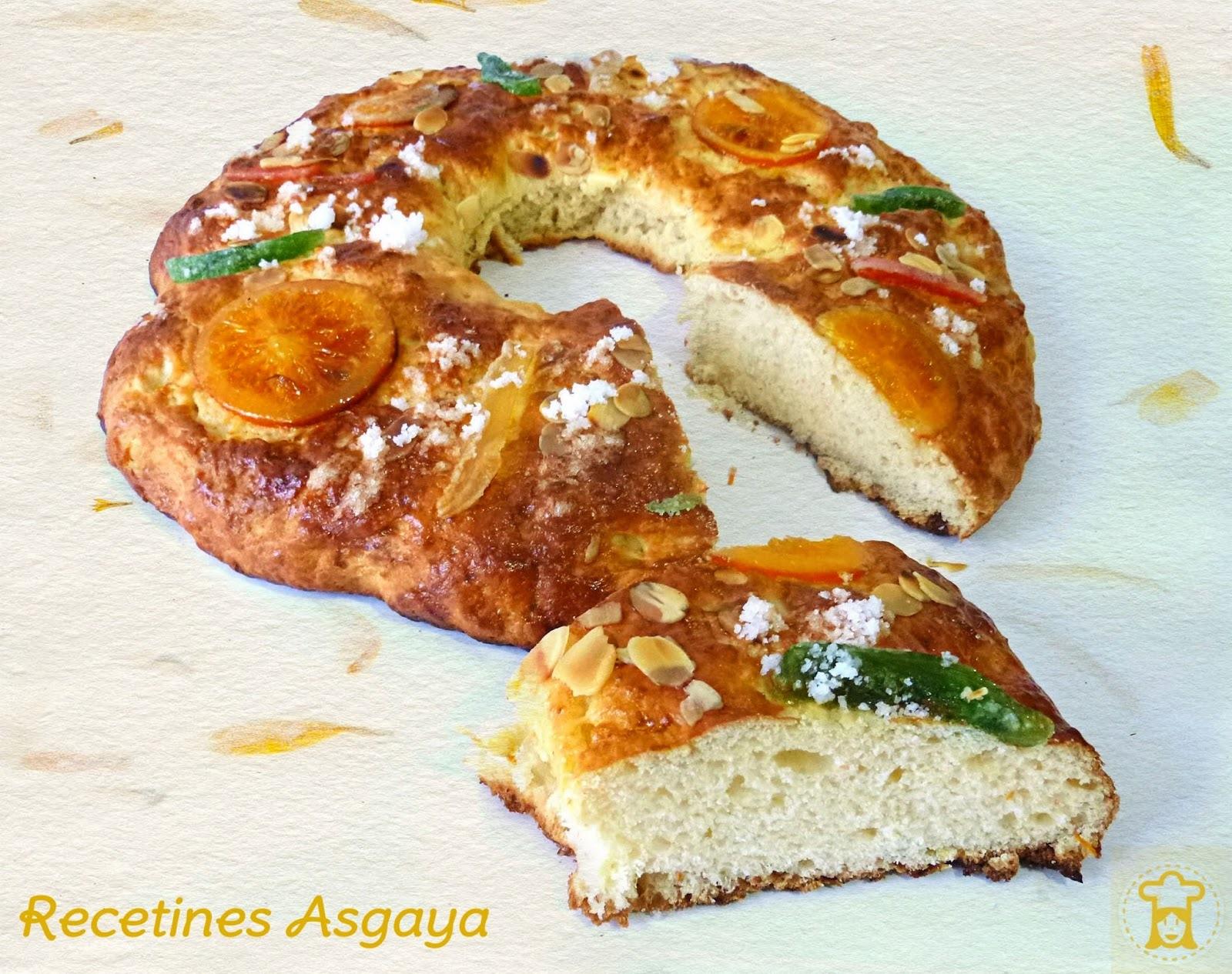 Roscón de Reyes con Buttermilk