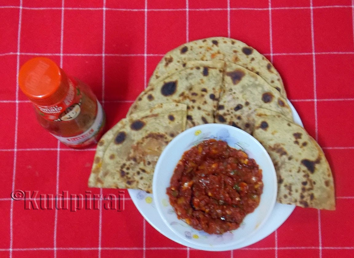 of carrot paratha by sanjeev kapoor