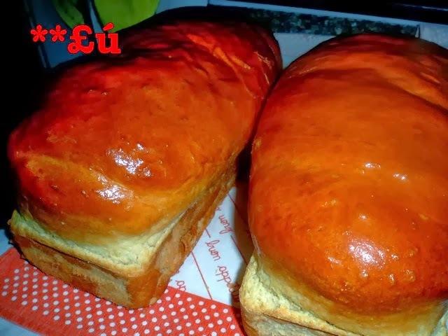 pão caseiro fermento em pó